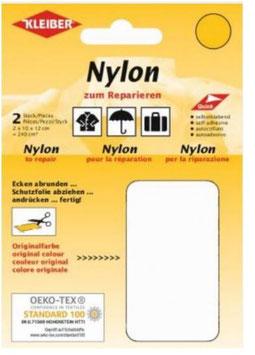 Nylon selbstklebend für Schnellreparatur, Farbe weiss
