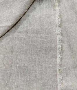 Natur Leinen, hellgrau meliert, Bettwäsche Qualität, 280 cm breit, 1 Meter