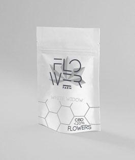 Flowerfarm WHITE WIDOW 1G. 15% cbd 0,2% thc INDOOR