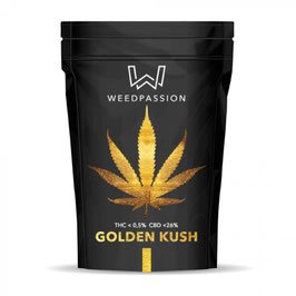 WeedPassion GOLDEN KUSH 26%cbd 0,5%thc INDOOR