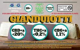 Theweedshop GIANDUIOTTTI 1G. 20%cbd 0,2%thc
