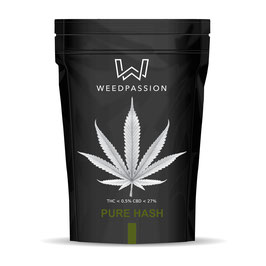 Weedpassion Pure Hash 26% cbd 1gr.