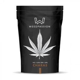 WEEDPASSION CHARAS HASH 1G. 26% cbd 0,5% thc