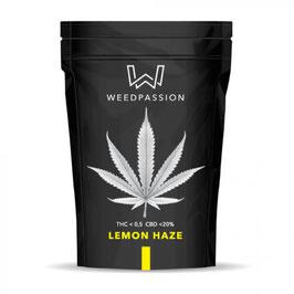 WeedPassion LEMON HAZE 20%cbd 0,5%thc INDOOR