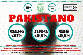 THEWEEDSHOP PAKISTANO 1G. 21%cbd 0,5%thc