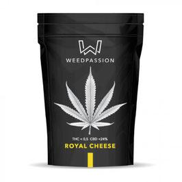 WeedPassion ROYAL CHEESE 24%cbd 0,5%thc INDOOR