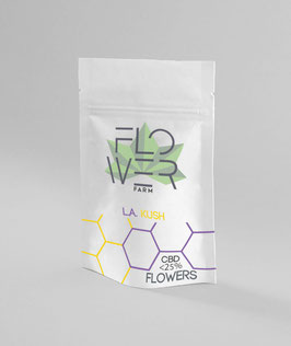 Flowerfarm L.A. KUSH 1G. 20% cbd 0,5% thc INDOOR