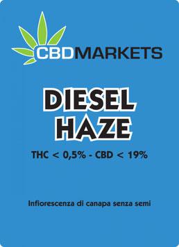 CBDMARKETS DIESEL HAZE 1g. 19% cbd 0.5% thc