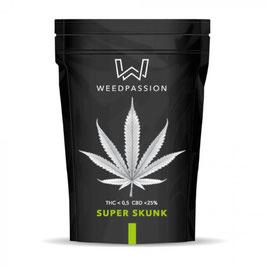 WeedPassion SUPERSKUNK 25%cbd 0,5%thc INDOOR