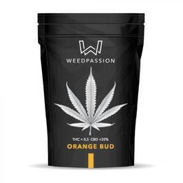 WeedPassion ORANGE BUD 20%cbd 0,5%thc INDOOR