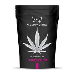 Weedpassion Bubblegum 26% cbd