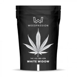 WeedPassion WHITE WIDOW 23%cbd 0,5%thc INDOOR