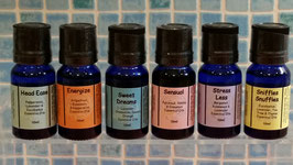 Pure, therapeutic-grade essential oil blends - no fillers