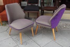 2 x 50er Jahre Sessel