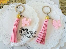 Nappa e Carrozzina Rosa