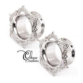 Mandala argento