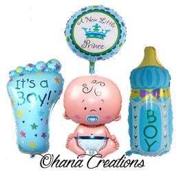 Set 4 palloncini bambino