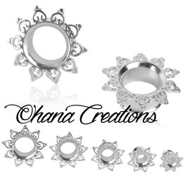 Mandala Sole argento
