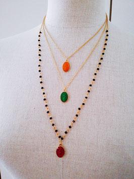 Collana rosario oro
