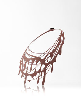 【PJ-004】チョコレート ネックレス(茶色)