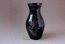 Vase aus Glas   Vintage glass flower vase 50s   made in Germany