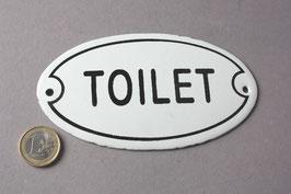 Toilet WC Emaille Schild Vintage - door sign enamel