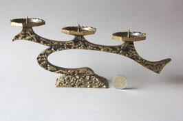 Vintage Kerzenständer Bronze Brutalist 60s 70s / candlestick