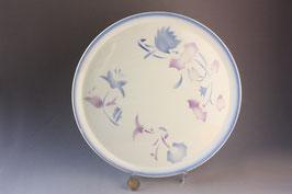 Art Déco Spritzdecor Tortenplatte Antik / cake plate Vintage 20s 30s