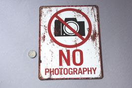 """""""No Photography"""" Hinweisschild Türschild / door sign"""