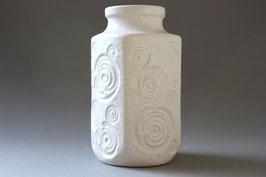 """""""Jura"""" Weiße Scheurich Keramik Vase / white ceramic vase West German Pottery WGP 60s 70s"""