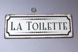"""""""La Toilette"""" französisches Türschild / rustic door sign"""