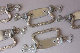 1 Möbelgriff Antik   Judendstil Pendelgriff   Art Nouveau door puller for cabinets   drawer pull for dresser