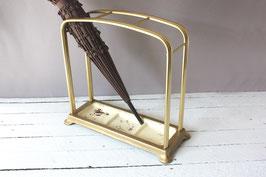 Schmaler Schirmständer Vintage | Rectangular Midcentury Umbrella Stand
