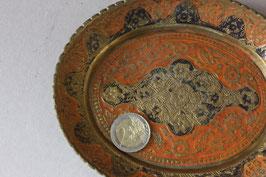 Orientalische Vintage Schale aus Messing   small oriental bowl made of brass