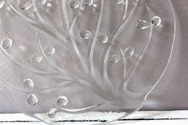 Kuchenplatte Glas Baum Vintage | pizza plate | glass cake plate branch