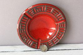 Jette Helleroe Denmark Vintage Aschenbecher Keramik 70s / ceramic ashtray Retro