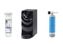 AKUABON Produttore di acqua filtrata refrigerata gassata da sopralavello