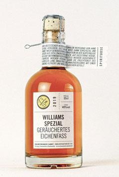 Williamsbirne Spezial geräuchertes Eichenfass 40% vol