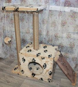 50. Мини-комплекс с горкой для котят и кошек