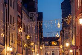 Wahlenstraße mit Weihnachtsbeleuchtung