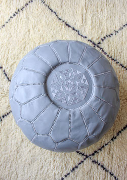 (Temporarily) Out of Stock - 'Marrakech' Pouf - Soft Grey