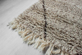 SOLD OUT - Beni Ouarain Rug Grey/Taupe 'Large Pattern'