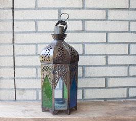 Moroccan Lantern 'Medina Colors' - Medium