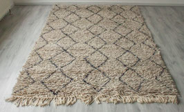 SOLD OUT - Beni Ouarain Rug Grey/Taupe 'Small Pattern'