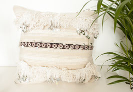 Wedding Blanket Pillow 'Touch of Color'