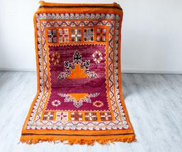 Vintage Beni M'Tir Rug 'Orange'