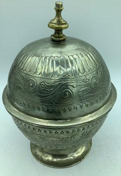 Vintage Zuckerdose oder Minzbehälter / Handarbeit aus  Marokko (Bestell-ID 34007)