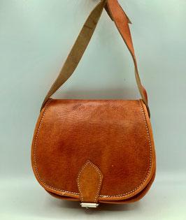 Handtasche aus Leder orange S (Bestell-ID 40007c)
