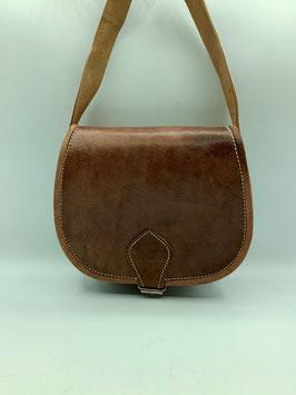 Handtasche aus Leder tiefbraun S (Bestell-ID 40007e)