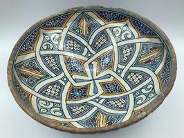 Vintage Keramikschüssel zum Nutzen oder Aufhängen (Bestell-ID 31399)